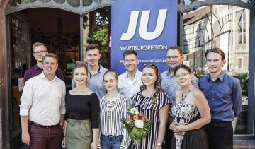 Tatendrang und Motivation im neuen Vorstand der Jungen Union Wartburgregion
