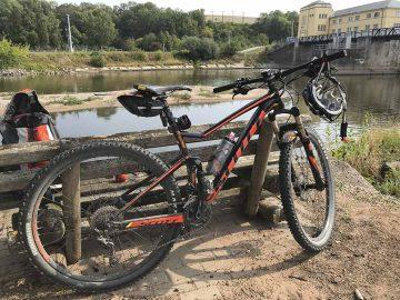 Suche nach gestohlenem Fahrrad
