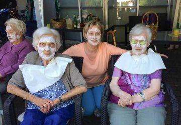 Bildquelle: © Caritas Altenzentrum Elisabethenruhe  Wellness, die Spaß macht