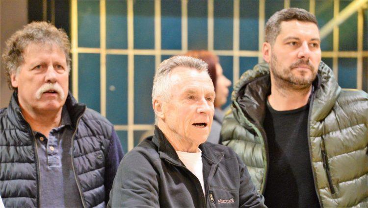 Bildquelle: sportfotoseisenach Zuschauer, die in ganz unterschiedlichen Zeiten, in Eisenach am Ball waren:  (v.l.) Jürgen Beck, Horst Ehrhardt, Krisztian Szep-Kis