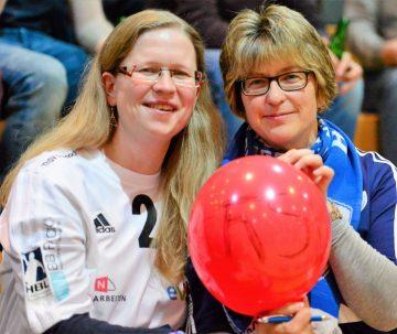 Bildquelle: sportfotoseisenach Stets mit Herz für ihren ThSV Eisenach, die weiblichen Fans
