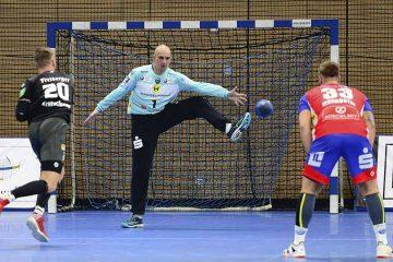 Bildquelle: © Frank Arnold • sportfotoseisenach / ThSV Eisenach ThSV-Keeper Blaz Voncina, bekommt er zunächst das Vertrauen des Trainers?