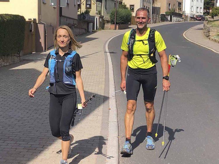 Bildquelle: © Pummpälzweg e.V.   Katrin Hildebrandt und Hagen Herzog auf Championkurs