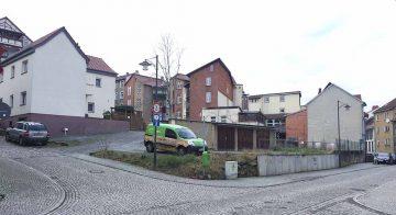 Bildquelle: © Stadt Eisenach Viel Platz für Zukunftsvisionen: Die Lutherstraße 30-34 ist einer von vier Innerstädtischen Standorten mit großem Potential und Handlungsbedarf.