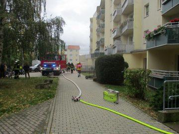 Bildquelle: Stadt Eisenach Feuerwehr-Loescheinsatz - Kellerbrand in Eisenach Nord