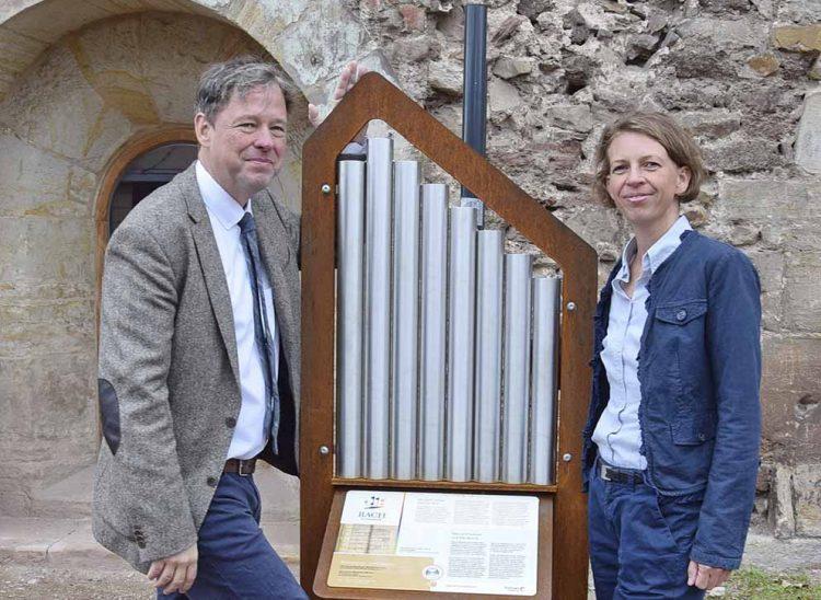Bildquelle: © Stadt Eisenach Hörmodul Bach-Orgel an der Eisenacher Predigerkirche - Dr Jörg Hansen und Carola Schumacher.