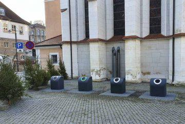 Bildquelle: © Stadt Eisenach Neue Unterflurcontainer am Markt sind eingebaut.