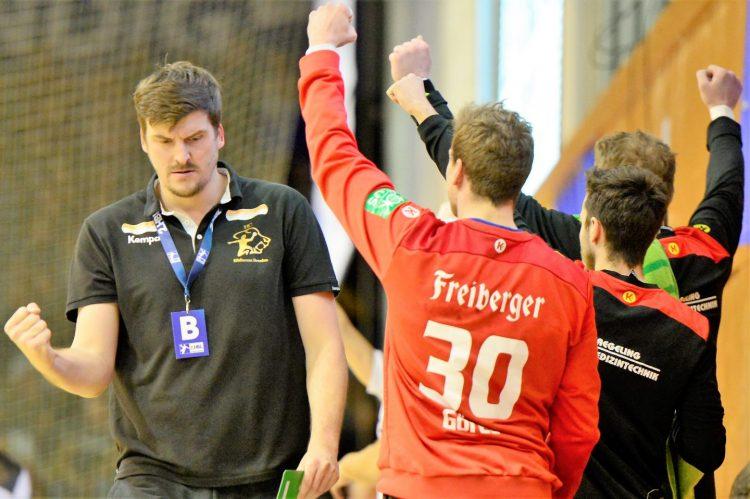 Bildquelle: sportfotoeisenach Rico Göde, der Coach des HC Elbflorenz