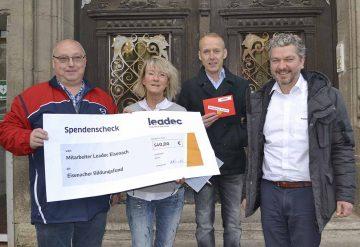 Bildquelle: © Stadt Eisenach Leadec-Spende