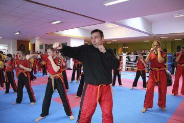 Bildquelle: © Kampfsportschule Berk Während der Grüngurtprüfung
