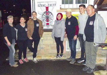Bildquelle: © Gerd Anacker von links nach rechts: Simone Schmidt, Anja Müler, Lukas Leyh,  Selena Danz, Jürgen Büchner, Kevin Menge, Klaus-Martin Luther.