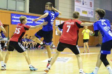 Bildquelle: © Frank Arnold • sportfotoseisenach / ThSV Eisenach Tom Steiner wird Linksaußen beginnen, könnte dann aber auch Aufgaben im Rückraum übernehmen.